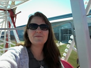 On the ferris wheel- Lines From The Vine- http://www.LinesFromTheVine.com