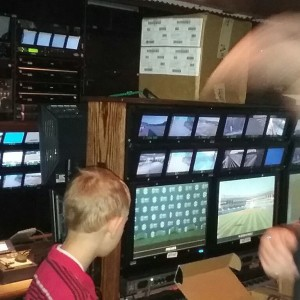 Inside a remote television truck-Lines From The Vine- http://www.LinesFromTheVine.com