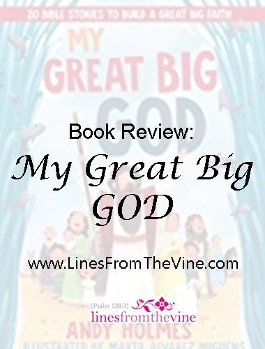 My Great Big God- www.LinesFromTheVine.com